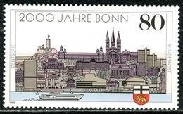 BRD - Mi 1402 - ** Postfrisch (D) - 80Pf    2000 Jahre Bonn - [7] Repubblica Federale