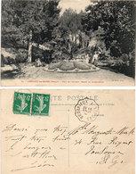 LAMALOU LES BAINS - Parc De L' Usclade - Massif En Mosaïculture - Cachet : Bédarrieux A St Pons    (112657) - Lamalou Les Bains