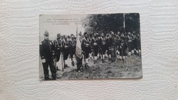 B5/le Drapeau Des Troupes Noires Qui Décimerent La Garde Prussienne - Guerra 1914-18