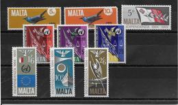 Thème Oiseaux - Malte -  Timbres Neufs ** - TB - Collections, Lots & Séries