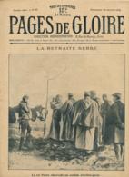PAGES DE GLOIRE, Revue 16 Pages, N°61, Dimanche 30 Janvier 1916, Les Invalides, Exode, Ballon D'Alsace, Le Jonc, Serbie - Livres, BD, Revues