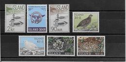 Thème Oiseaux - Islande -  Timbres Neufs ** - TB - Collections, Lots & Séries