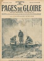 PAGES DE GLOIRE, Revue 16 Pages, N° 59, Dimanche 16 Janvier 1916, Les Eparges, Argonne, Jeanne D'Arc, Zouave, Serbie... - Livres, BD, Revues