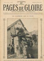 PAGES DE GLOIRE, Revue 16 Pages, N° 20, Dimanche 18 Avril 1915, Poésele, Nevele, Ballon Captif, Canon De 150, La Bassée - Livres, BD, Revues
