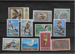 Thème Oiseaux - Chypre -  Timbres Neufs ** - TB - Collections, Lots & Séries