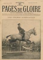 PAGES DE GLOIRE, Revue 16 Pages, N° 18, Dimanche 4 Avril 1915, Albert, Levallois-Perret, Ile D'Héligoland, Londres... - Livres, BD, Revues