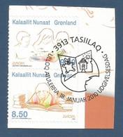 Dänemark-Grönland  2010  Mi.Nr. 556 / 557 , EUROPA CEPT - Kinderbücher - Selbstklebend - Gestempelt / Used / (o) - Europa-CEPT