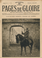PAGES DE GLOIRE, Revue 16 Pages, N° 15, Dimanche 14 Mars 1915, Creil, Nubécourt, Dardanelles, Fort De Troyon, Bosphore.. - Livres, BD, Revues