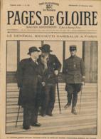 PAGES DE GLOIRE, Revue 16 Pages, N° 12, Dimanche 21 Février 1915, Ramscapelle, Furnes, Ypres, Fort-National, Algérie... - Livres, BD, Revues
