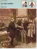 France 1890 Delegues Ouvriers Demandant Edition Geneve 1982 (description On The Back Of The Card) 160/120mm - Labor Unions