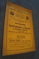 Ancien Catalogue Maison Robert Drosten,Bruxelles 1910,instruments De Dessin,28 P., 26 Cm. Sur 17,5 Cm. - Publicités