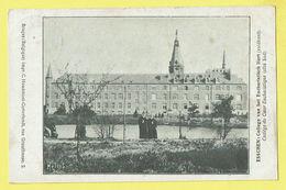 * Essen - Esschen (Antwerpen - Anvers) * (Impr C. Houdmont Cortvriendt Bruges) College Eucharistisch Hart, école - Essen