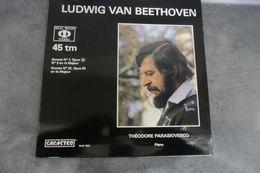 Disque-Théodore Paraskivesco - Sonate N°7 Opus De Beethoven - Sarastro Sar 7927 - 45 LP - 1978 Sous Plastique - - Classical
