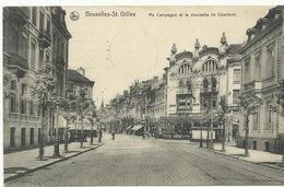 Bruxelles-St.Gilles Ma Campagne Et La Chaussée De Charleroi  (1073) - St-Gillis - St-Gilles