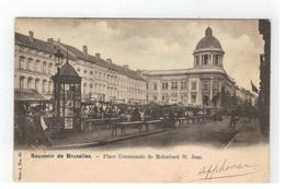 Molenbeek St.Jean Place Communale Souvenir De Bruxelles - St-Jans-Molenbeek - Molenbeek-St-Jean