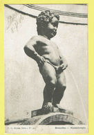 * Brussel - Bruxelles - Brussels * (E.G. Série 1, Nr 90) Manneken Pis, Statue, Fontaine, Monument, Rare, Old, Enfant - Brussel (Stad)