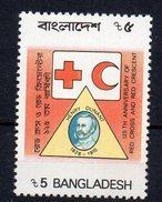 BANGLADESH - CROIX-ROUGE - RED-CROSS - HENRI DUNANT - 125éme ANNIVERSAIRE DE LA CROIX-ROUGE - 1988 - - Bangladesh