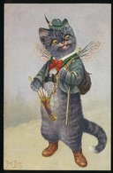 ARTHUR THIELE  CHAT - CAT - KAT  2 SCANS - Thiele, Arthur
