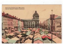 Molenbeek-Saint-Jean-Bruxelles   Place Du Marché Et Maison Communale - St-Jans-Molenbeek - Molenbeek-St-Jean