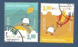 Bosnien Herzegowina Kroatische Post Mostar  2010  Mi.Nr. 285 / 86 , EUROPA CEPT - Kinderbücher - Gestempelt / Used / (o) - Europa-CEPT
