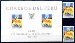 1960 PERU' SET MNH ** + BF - Perù