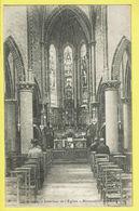 * Melsele (Beveren Waas - Gaverland) * Intérieur De L'église, Binnenzicht Der Kerk, Church, Animée, Autel Rare - Beveren-Waas