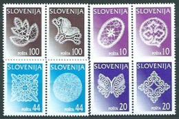 ESLOVENIA 1997 - SLOVENIE - ENCAJES DE BOLILLOS - YVERT Nº 187-194 - Slovénie