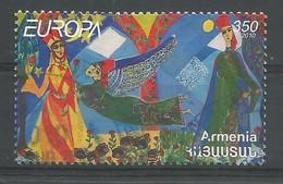 Armenien / Armenia  2010  Mi.Nr. 713 , EUROPA CEPT - Kinderbücher - Gestempelt / Used / (o) - Europa-CEPT