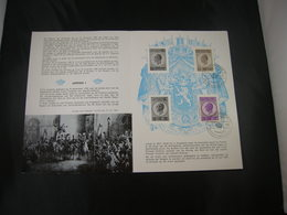 "BELG.1965 1349-1350 FDC Folder NL.  : "" Leopold I "" - FDC"