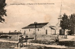 Andernos   Les  Bains -   L' église  Et  Les  Ruines  Gallo - Romaines. - Andernos-les-Bains