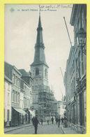 * Sint Truiden - Saint Trond (Limburg) * (SBP, Nr 13) Rue De Tirlemont, église, Animée, Kerk, Straatzicht, TOP, Unique - Sint-Truiden