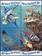 Ref. 570425 * NEW *  - NEW ZEALAND . 1998. MARINE FAUNA. FAUNA MARINA - Nuevos