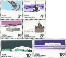 Ref. 45287 * NEW *  - NEW ZEALAND. Ross Dependency . 1972. DIFFERENT CONTENTS. MOTIVOS VARIOS - Dependencia Ross (Nueva Zelanda)