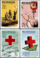 Ref. 579140 * HINGED *  - NICARAGUA . 1965. CENTENARY OF INTERNATIONAL RED CROSS. CENTENARIO DE LA CRUZ ROJA INTERNACION - Nicaragua