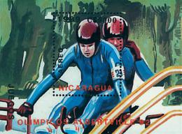 Ref. 71414 * NEW *  - NICARAGUA . 1989. XVI OLYMPIC WINTER GAMES. ALBERTVILLE 1992. 16 JUEGOS OLIMPICOS  INVIERNO ALBERT - Nicaragua