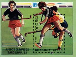 Ref. 68432 * NEW *  - NICARAGUA . 1989. GAMES OF THE XXV OLYMPIAD. BARCELONA 1992. 25 JUEGOS OLIMPICOS VERANO BARCELONA - Nicaragua