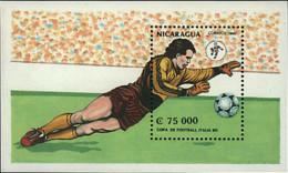 Ref. 68435 * NEW *  - NICARAGUA . 1990. FOOTBALL WORLD CUP. ITALY-90. COPA DEL MUNDO DE FUTBOL. ITALIA-90 - Nicaragua
