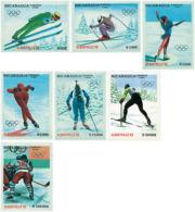 Ref. 71415 * NEW *  - NICARAGUA . 1990. XVI OLYMPIC WINTER GAMES. ALBERTVILLE 1992. 16 JUEGOS OLIMPICOS  INVIERNO ALBERT - Nicaragua