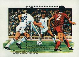 Ref. 68436 * NEW *  - NICARAGUA . 1990. GAMES OF THE XXV OLYMPIAD. BARCELONA 1992. 25 JUEGOS OLIMPICOS VERANO BARCELONA - Nicaragua