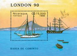 Ref. 160277 * NEW *  - NICARAGUA . 1990. EXPOSICION FILATELICA MUNDIAL DE LONDRES - Nicaragua