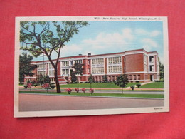 New Hanover High School   Wilmington    North Carolina  Ref 3270 - Wilmington