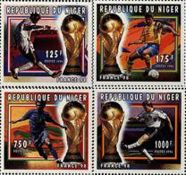 Ref. 47920 * NEW *  - NIGER . 1996. FOOTBALL WORLD CUP. FRANCE-98. COPA DEL MUNDO DE FUTBOL. FRANCIA-98 - Níger (1960-...)