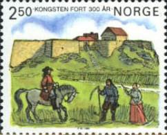 Ref. 102229 * NEW *  - NORWAY . 1985. 3 CENTENARIO DEL FUERTE DE DE KONGSTEN - Noruega