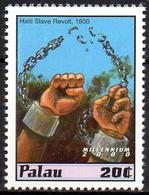 PALAU - 1v - MNH** Haiti Slave Revolt Slaves Broken Chains Hands Mains Esclaves Esclavage Slavery Sklaverei Esclavitud - Histoire