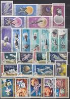 UNGARN 1965-1974 Partie Raumfahrt Mit 26 Verschiedenen  Used - Raumfahrt