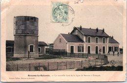 45 BEAUNE LA ROLANDE - La Nouvelle Gare De La Ligne De Beaune à Etampes - Beaune-la-Rolande