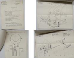 Citroen Traction Avant 15-Six 15-6 15 6 Six H Hydropneumatique Note Technique Originale 1954 18 Pages Texte Planches - Automobilismo