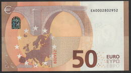 "50 EURO FRANCE  EA000   E001 ""00"" - DRAGHI   UNC - 50 Euro"