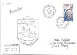 YT 2829 - La Corse 1er Département Français Libéré - Lettre Posté à Bord Du Patrouilleur Albatros - Kerguelen - France