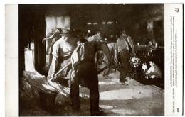 CPA Les Enfouisseurs - Jules ADLER - Salon 1910 - Schilderijen